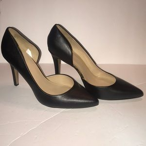 New Black Pointy Toe Pumps Size 11 wide